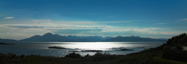 Skye from the mainland